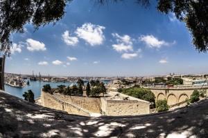 Veduta de La Valletta | Garden Barracca | Malta.