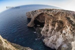 La Grotta Blu a Gozo, in Malta