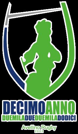 Logo Decennale Avellino Rugby