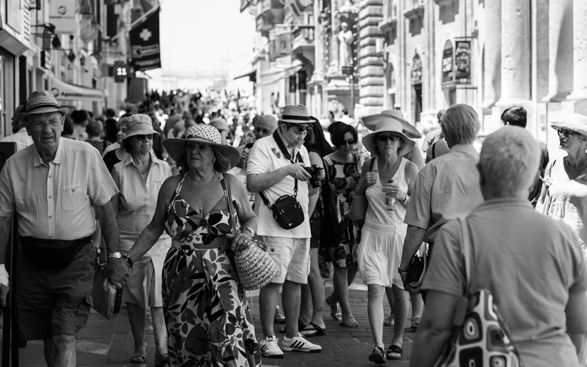Al corso. Foto di Emanuele Ruggiero, fotografo e grafico ad Avellino.