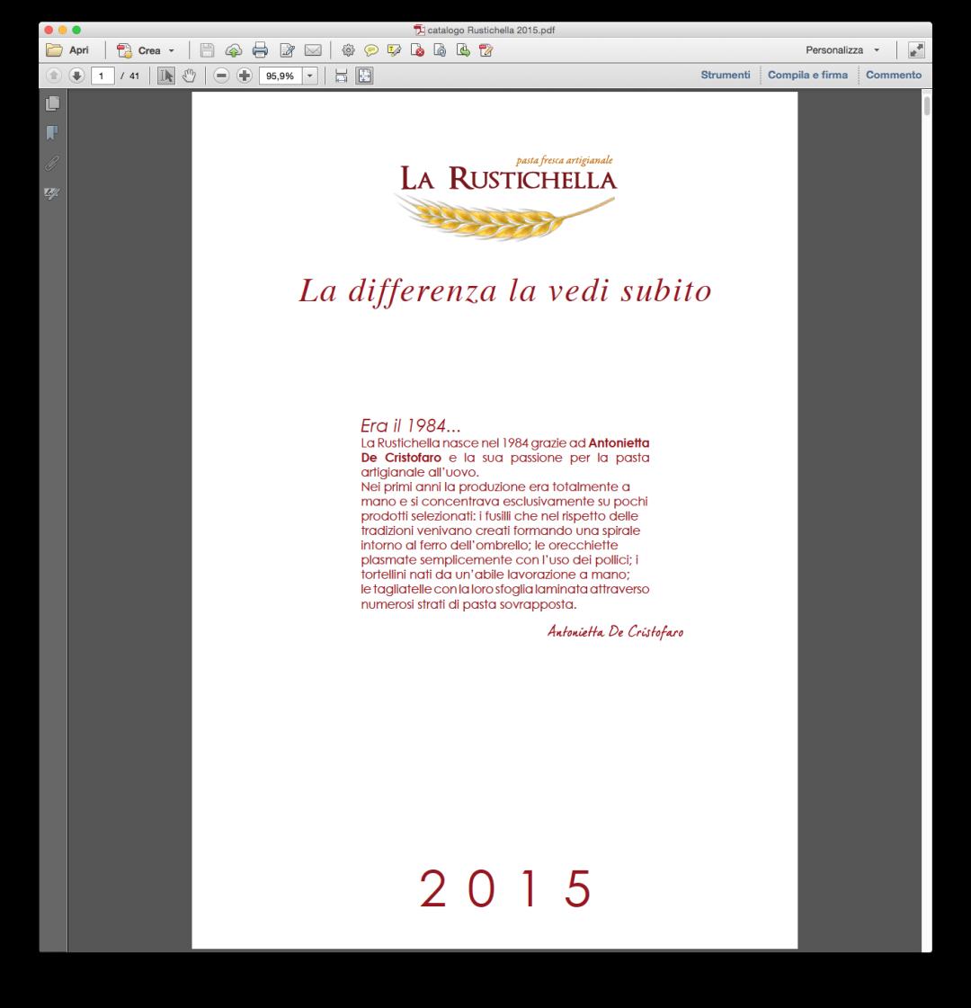 La Rustichella 2015
